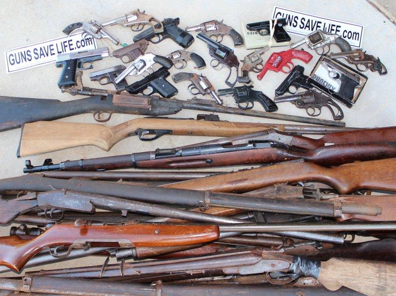 THANKS CHICAGO!  Chicago gun buy-back money sponsors NRA Youth Shooting Camp