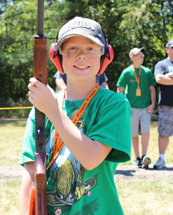 Pheasants Forever Young Guns come to Foosland Sportsman's Club