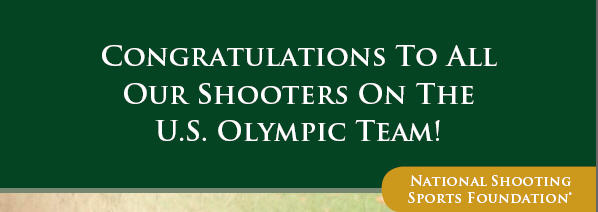 Congratulations to our Olympic Shooters!