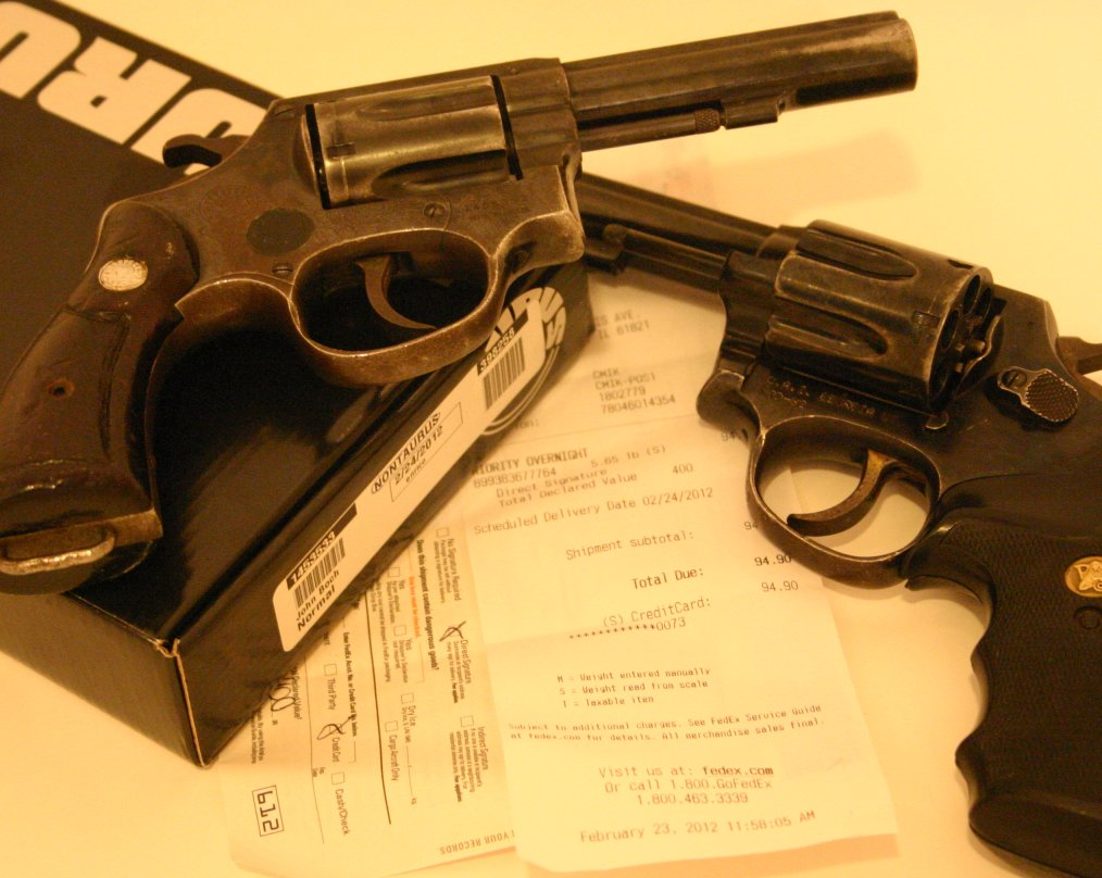 Product Review:  Taurus Model 82 imports are junk