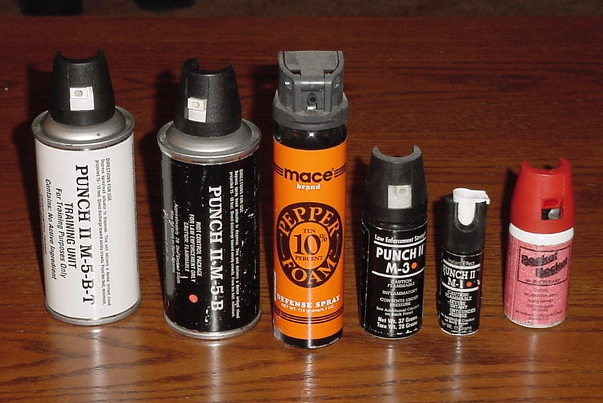 PEPPER SPRAY:  Don't bet your life on a can of spice