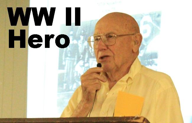 A WWII Hero:  OB Streeper, Silver Star recipient