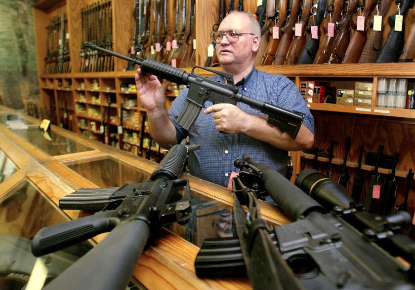Gun sales up sharply; merchants plan for post-election sales