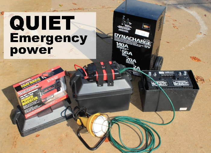 Quiet Emergency Power