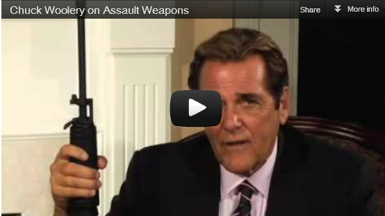 "Chuck Woolery on so-called ""Assault"" Weapons"