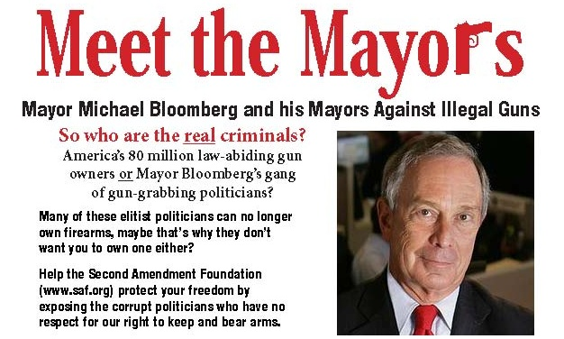 Meet the Anti-gun Mayors, Mr. and Mrs. America!