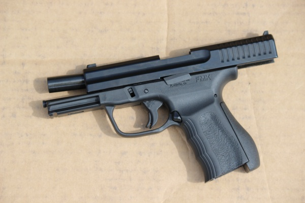 FMK 9mm: Inconsistent  Don't trust your life on this gun