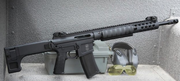 FROM THE PEOPLE THAT HIRED JODY WEIS & LON HORIUCHI'S PARTNER:  Troy Industries give us the pump-action AR-15…