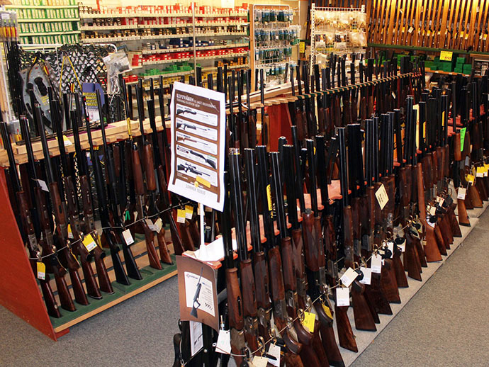 PATHETIC:  Europe's biggest gun store?
