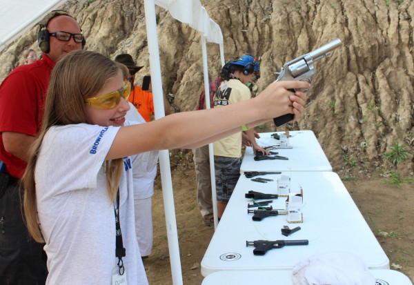 THANKS, RAHM:  Kids learn to shoot at NRA camp with ammo Chicago bought