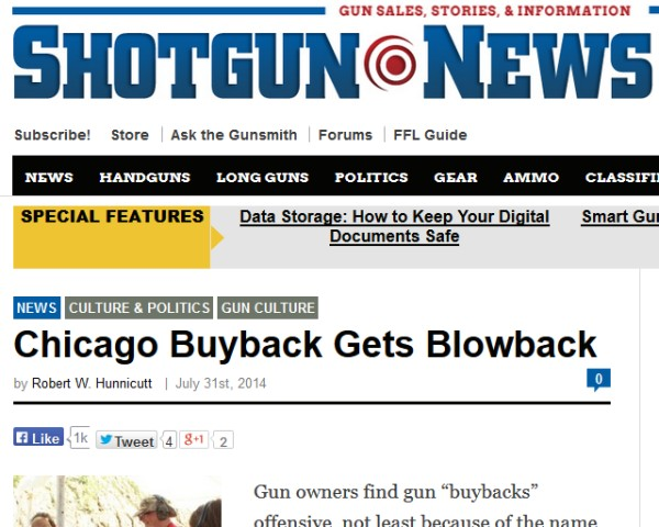 HEY HEY!  Shotgun News covers GSL using Chicago's money to teach kids to shoot