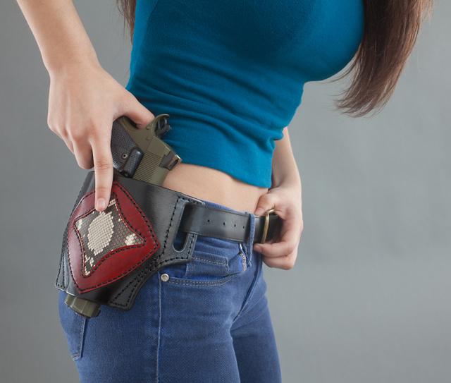 CARRY YOUR GUN!