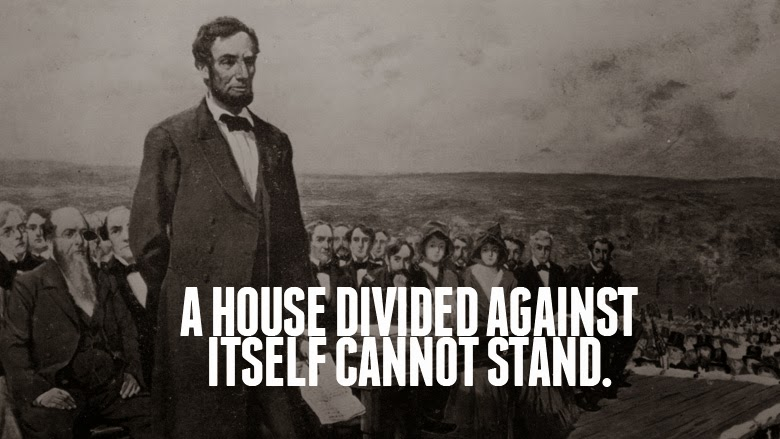 GSL PRESIDENT'S REPORT:  A House Divided Cannot Stand