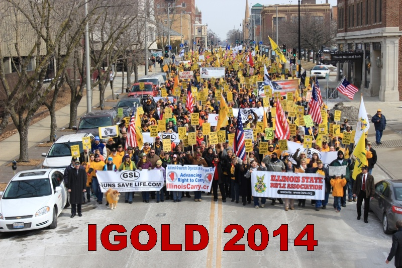 IGOLD, WEDNESDAY MAR 18:  Make plans to be there in Springfield, IL
