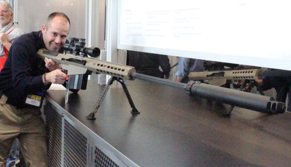 Next thing you know, the CSGV will say I'll poke a hole in the ozone layer if I'm not careful with this gun.