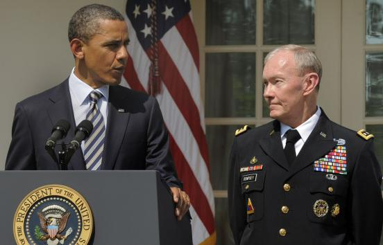 Chairman of Joint Chiefs (and Obama sycophant) gets corrected by Gold Star Mom