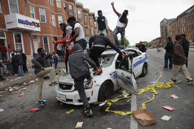 SHARPE:  Baltimore – Just Another Indicator of What's To Come.