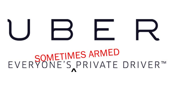 "SMART MAN:  Uber driver saves his own life by ignoring Uber's ""NO GUNS"" policy"