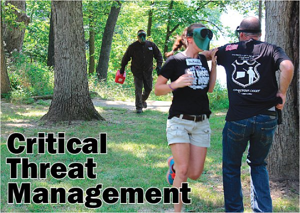 FORCE ON FORCE FOR CIVILIANS:  Sign up today for Critical Threat Management August 27 & 28 near Bloomington, IL