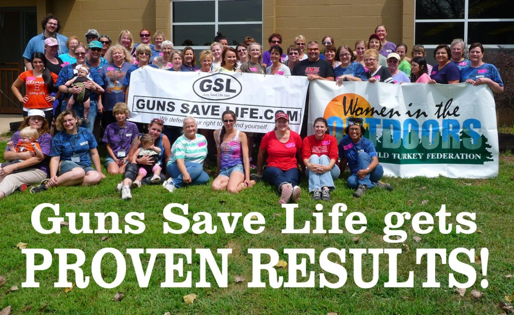 GUNS SAVE LIFE GETS RESULTS:   GSL provides rimfire ammo for well-attended Women in the Outdoors event