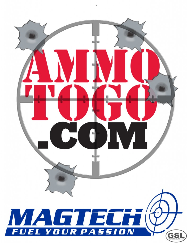 "FREE AMMO:  Ammo To Go ""Ammo Ambassador"" target inside.  Take a newbie to the range this weekend!"