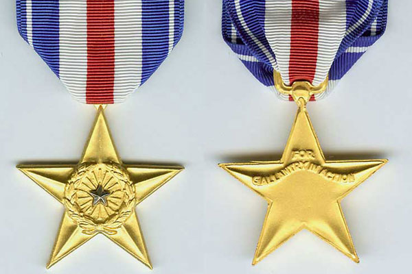 DISCARDED VALOR:  Throwing out service awards