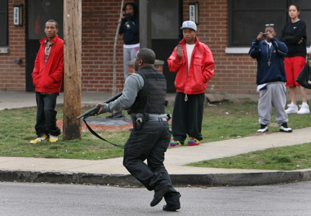GUESS THOSE CAMERAS DON'T DETER CRIMINALS AFTER ALL:  St. Louis beats out Detroit as America's most violent city