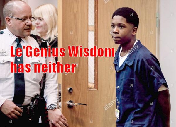 LE'GENIUS?  NOT SO MUCH.   Florida deals with violent juveniles…