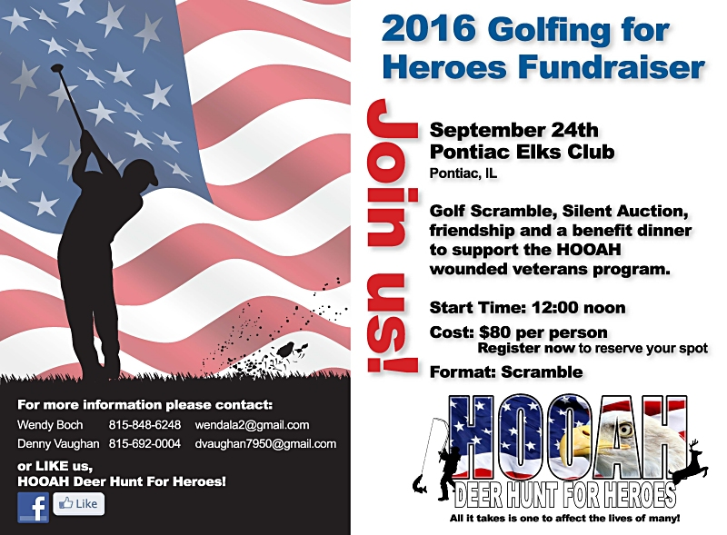 WANTED:  Join us for a great cause… helping our wounded American servicemen