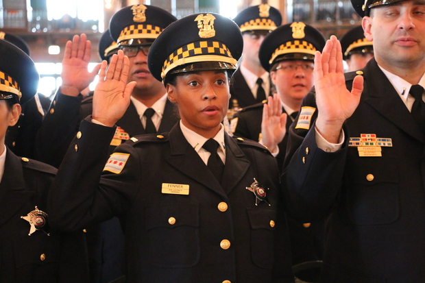RAHM'S SMOKE & MIRRORS:  97 new cops aren't new.  If you can't dazzle the public with excellence, baffle them with BS