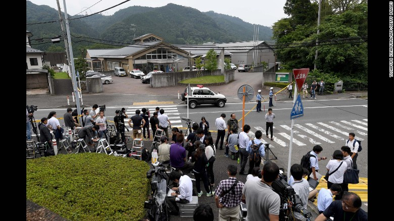 GUN-FREE DOESN'T MEAN 'VIOLENCE-FREE':  19 killed, dozens wounded in knife attack in Japan