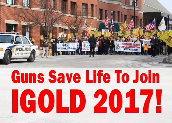 Guns Save Life to Join Illinois Gun Owners Lobby Day, April 5th