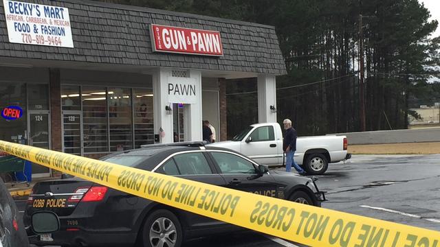 HAPPY ENDING:  Video of Gun & Pawn Shop Armed Robber Meeting Jesus