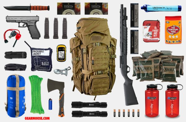 Do Guns & Ammo belong in bug-out bags?