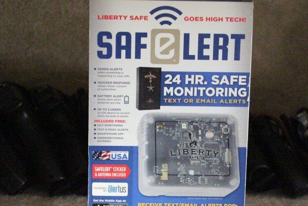 PRODUCT REVIEW:  SafElert Electronic Safe Monitoring…  two thumbs up.