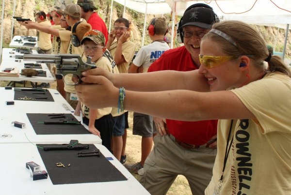 SOONER RATHER THAN LATER:  What age do you teach kids gun safety?