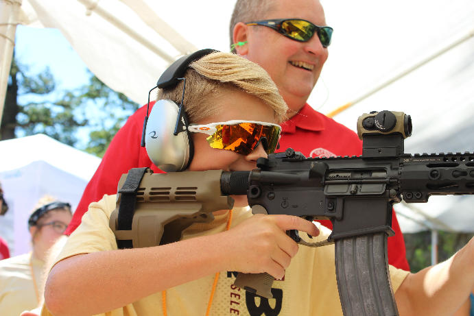 Kids Learn the Shooting Sports at Nation's Longest-Running Shooting Camp