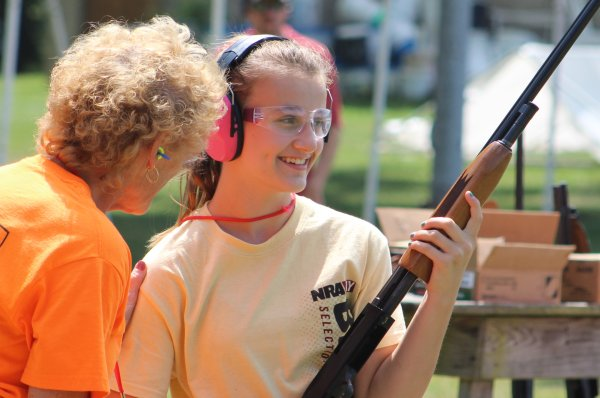 The Nation's Longest-Running NRA Youth Camp: Day One