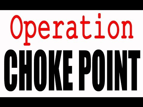 ABOUT TIME:  Obama's Operation Choke Point Program ENDED.