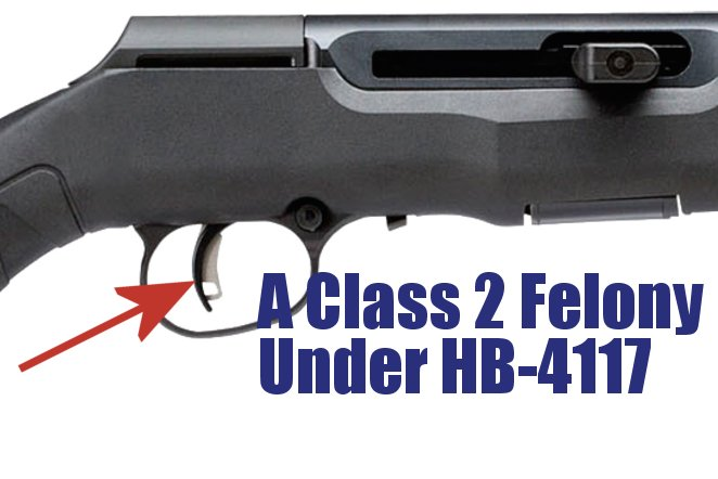 "OPPOSE HB-4117:  Illinois' ""Bump Stock"" ban that includes *all* trigger modifications"