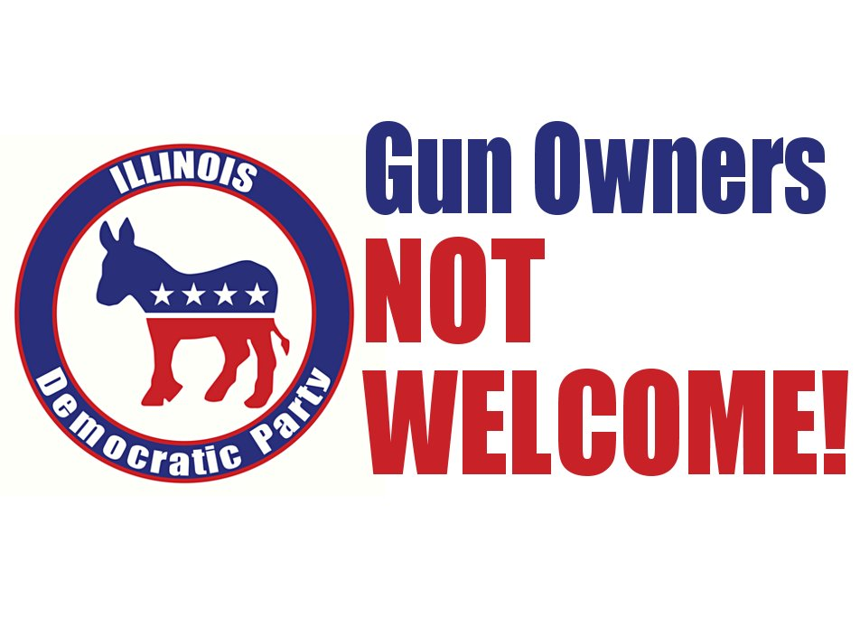 BUELLER?  Is there any room for Gun Owners in the Illinois Democrat Party?