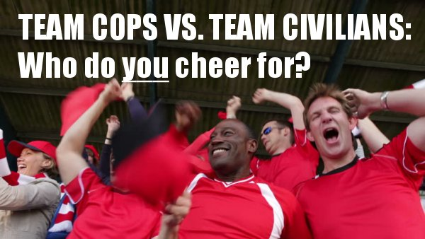 TEAM COPS vs. TEAM CIVILIANS:  Who to cheer for in Chicago's justifiable homicide race