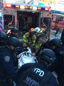 Observations on the NYC Transit Authority Terror Bombing Attack