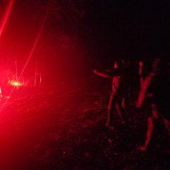 Shooting at backlit targets.
