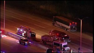 Bus Chase Ends In Illinois With Armed Passenger Arrested, 40 Passengers Released