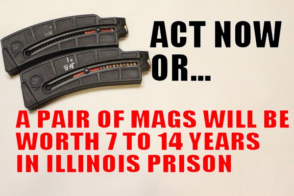 EMERGENCY ACTION:  Call your State Representative.   Or else you're a felon in 90 days.