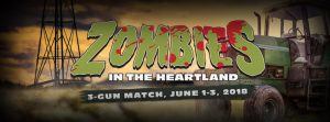 Zombie Shooting Time-Live from the 2018 Zombies in the Heartland 3 Gun Match