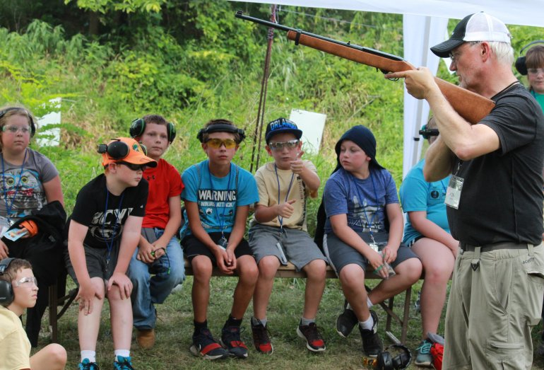 Scenes From Nation's Longest-Running NRA Youth Shooting Camp – Day One