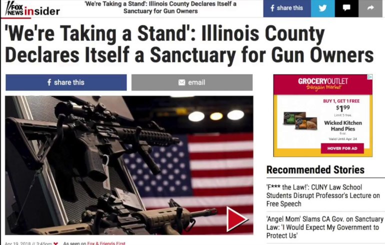 NICKEL:  Gun Sanctuaries: A Powerful and Symbolic Message