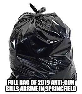 Anti-gun Illinois-Dems file new garbage bills in 2019